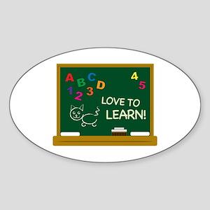 Love To Learn! Sticker