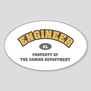 BF2 Engineer Oval Sticker