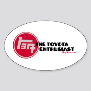 The Toyota Enthusiast2.blogspot Sticker