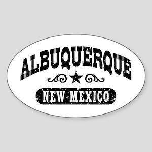 Albuquerque New Mexico Sticker (Oval)