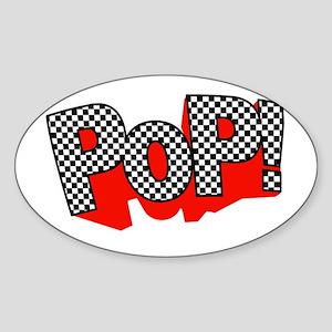 PoP! Goes My Heart Oval Sticker