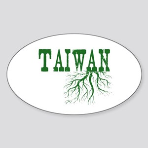 Taiwan Roots Sticker (Oval)