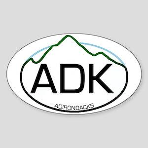 ADK Oval Oval Sticker