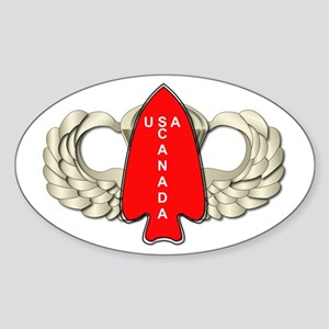 1st Special Service Force - Wings Sticker (Oval)