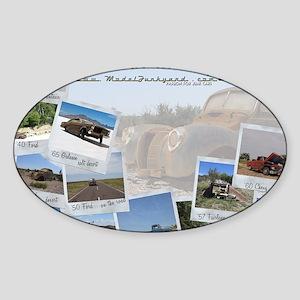 Calendar - cover 2012 Sticker (Oval)