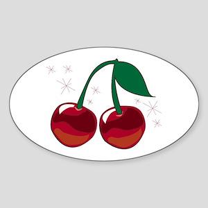 Sparkling Cherries Sticker