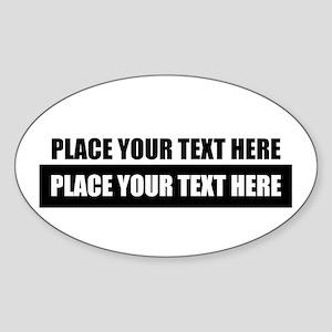 Text message Customized Sticker
