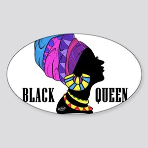 Black African Queen Sticker