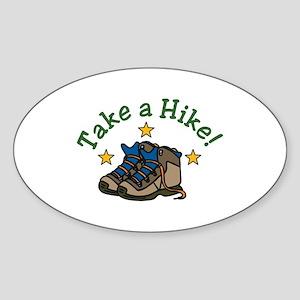 Take a Hike! Sticker