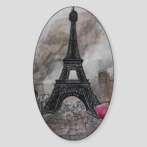 Industrial Paris Sticker (Oval)