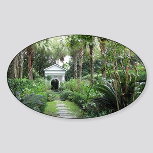 Charleston SC Palmettos Garden & Ga Sticker (Oval)