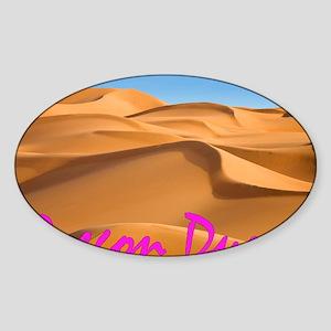 Oregon Dunes Sticker (Oval)