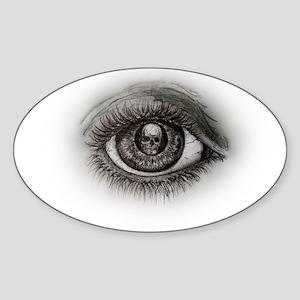 Eye-D Sticker (Oval)