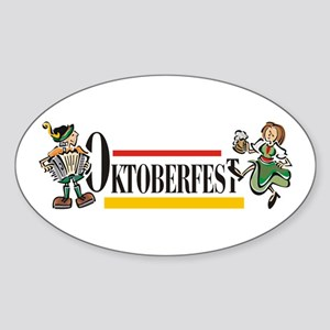 Oktoberfest Oval Sticker