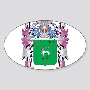 Hennessy Coat of Arms (Family Crest) Sticker