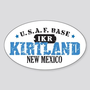 Kirtland Air Force Base Oval Sticker