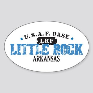 Little Rock Air Force Base Oval Sticker