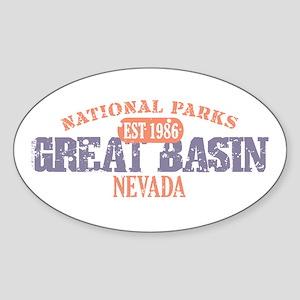 Great Basin National Park NV Sticker (Oval)