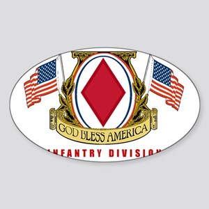5th INFANTRY DIVISION Sticker (Oval)