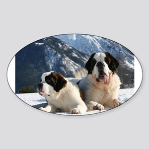saint bernard group Sticker
