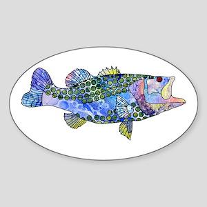 Wild Bass Sticker