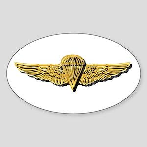 Navy - Parachutist Badge - No Txt Sticker (oval)