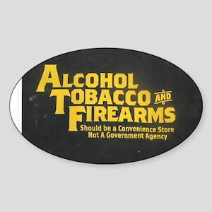ATF Sticker (Oval)