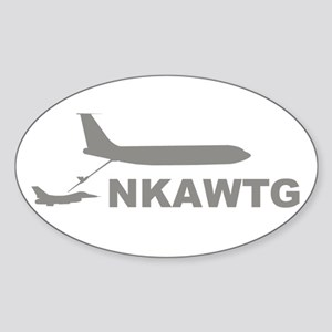 NKAWTG-1 Sticker (Oval)