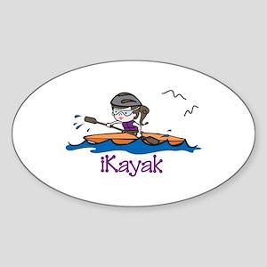 iKayak Sticker