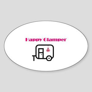 hAPPY gLAMPER Sticker