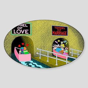 Tunnels Sticker (Oval)