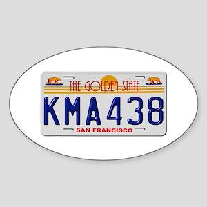 KMA438 San Francisco Sticker