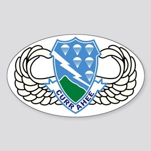 Army-506th-Infantry-Regiment-Airbor Sticker (Oval)