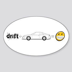 Drift and S14 is fun Sticker (Oval)
