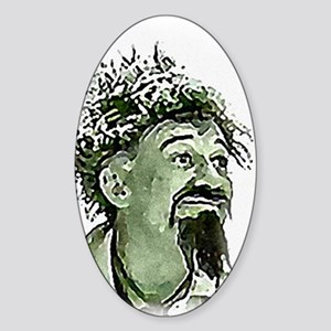 GhoulardiRemembered Sticker (Oval)