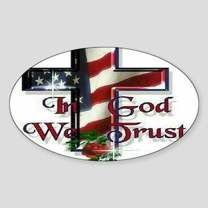 IN GOD WE TRU Sticker