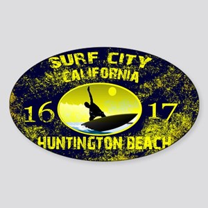 SURF CITY CALIFORNIA Sticker