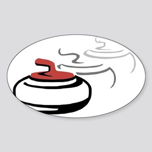 3 Stone_2 Sticker (Oval)