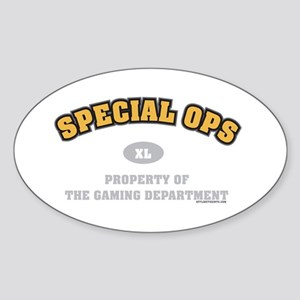 Special Ops Dept Oval Sticker