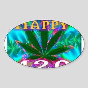 happy 420 Sticker