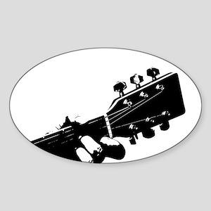 Guitarist Sticker