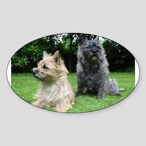 cairn terrier group Sticker