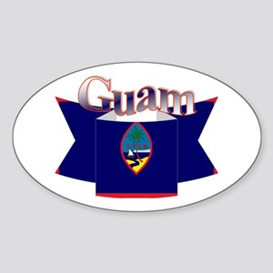 GUam ribbon Sticker