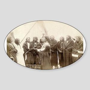 Lakota Chiefs - John Grabill - 1880 Sticker