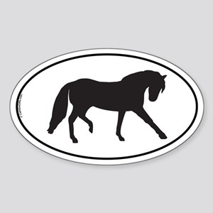 Andalusian Oval Sticker