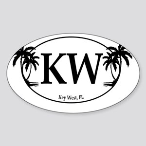 KW Logo Sticker (Oval)
