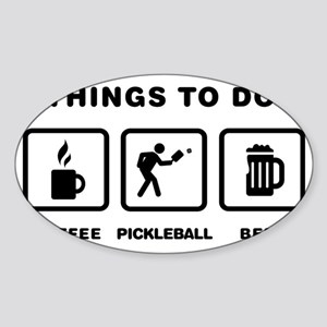 Pickleball-ABH1 Sticker (Oval)