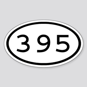 395 Oval Oval Sticker