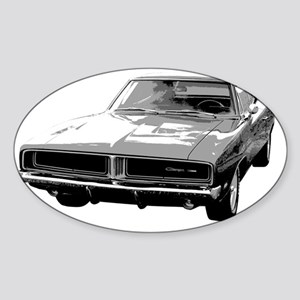 1969 Charger Sticker (Oval)