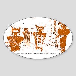 Sego-Canyon-Utah Sticker (Oval)